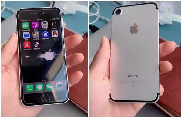 网友手改苹果7竟撞脸iPhoneSE